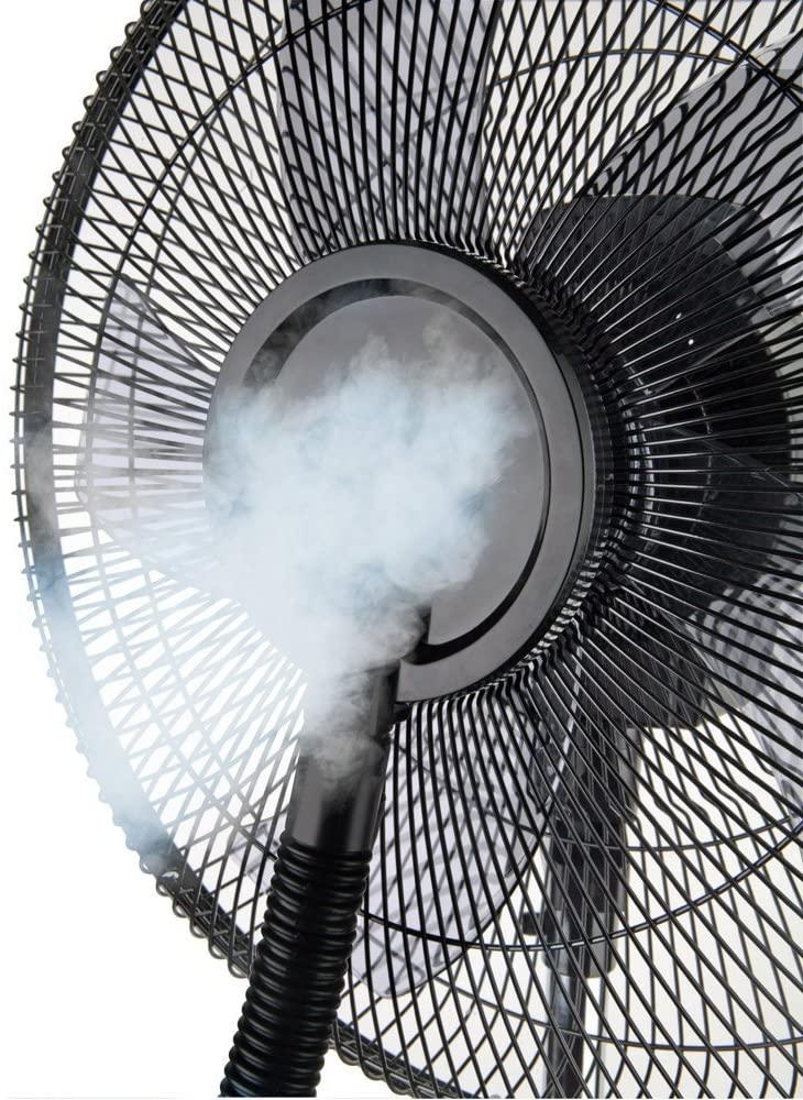 Comment fonctionne un ventilateur brumisateur ?